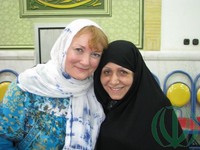 Мария и госпожа Мансуре Аяти